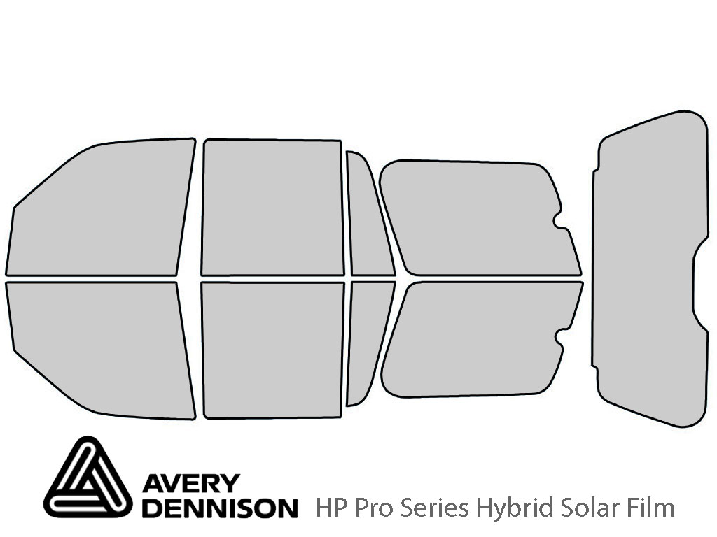 Avery Dennison Ford Expedition 2007-2017 HP Pro Window Tint Kit