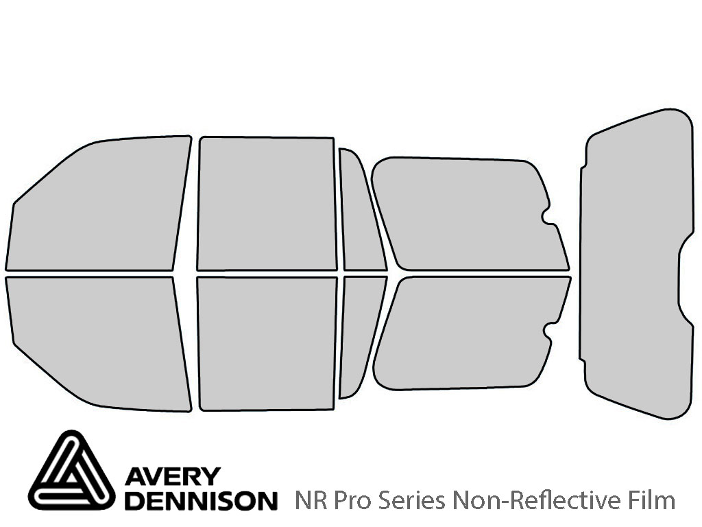 Avery Dennison Ford Expedition 2007-2017 NR Pro Window Tint Kit