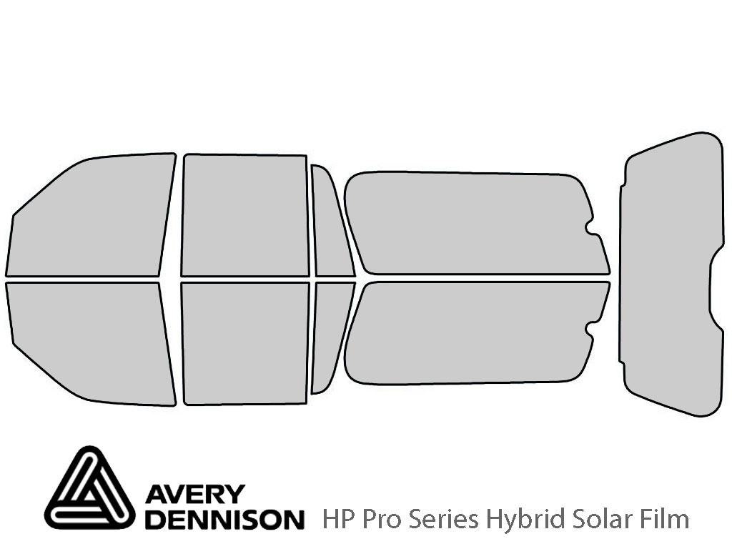 Avery Dennison Ford Expedition 2007-2017 (EL) HP Pro Window Tint Kit