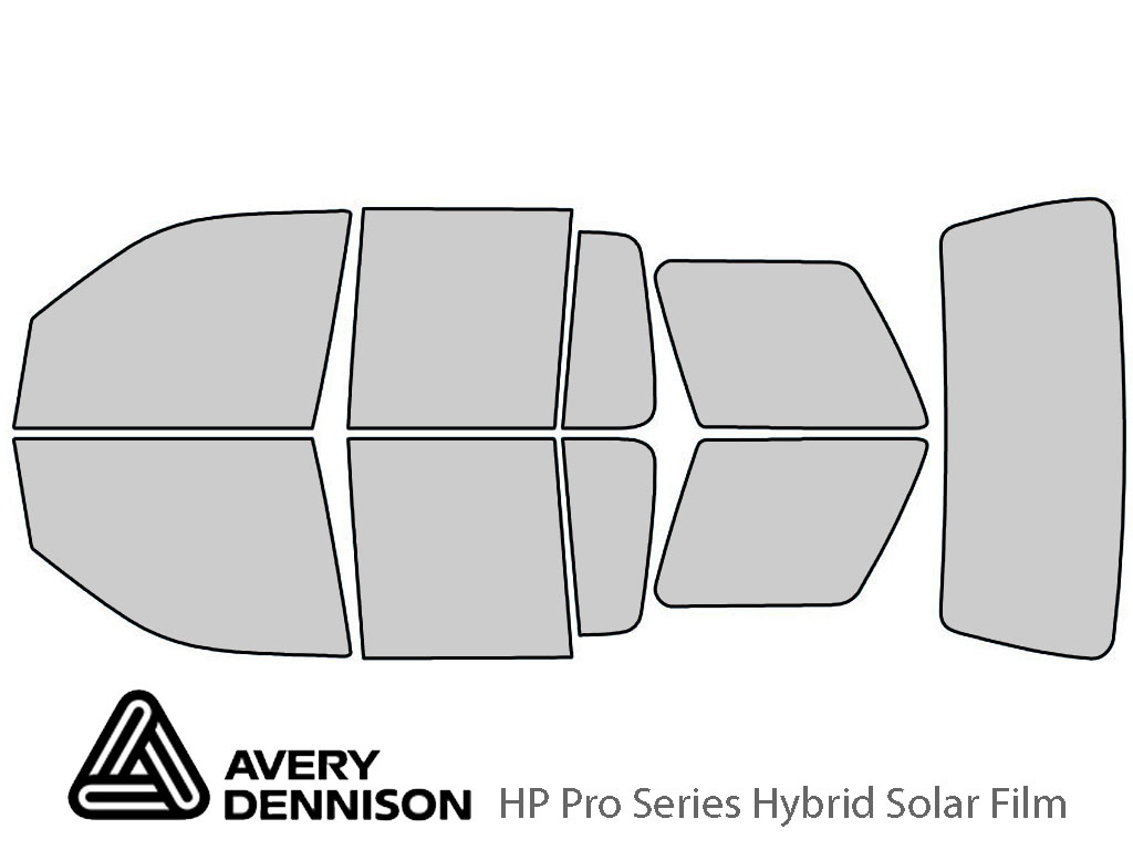 Avery Dennison Ford Explorer 2006-2010 HP Pro Window Tint Kit