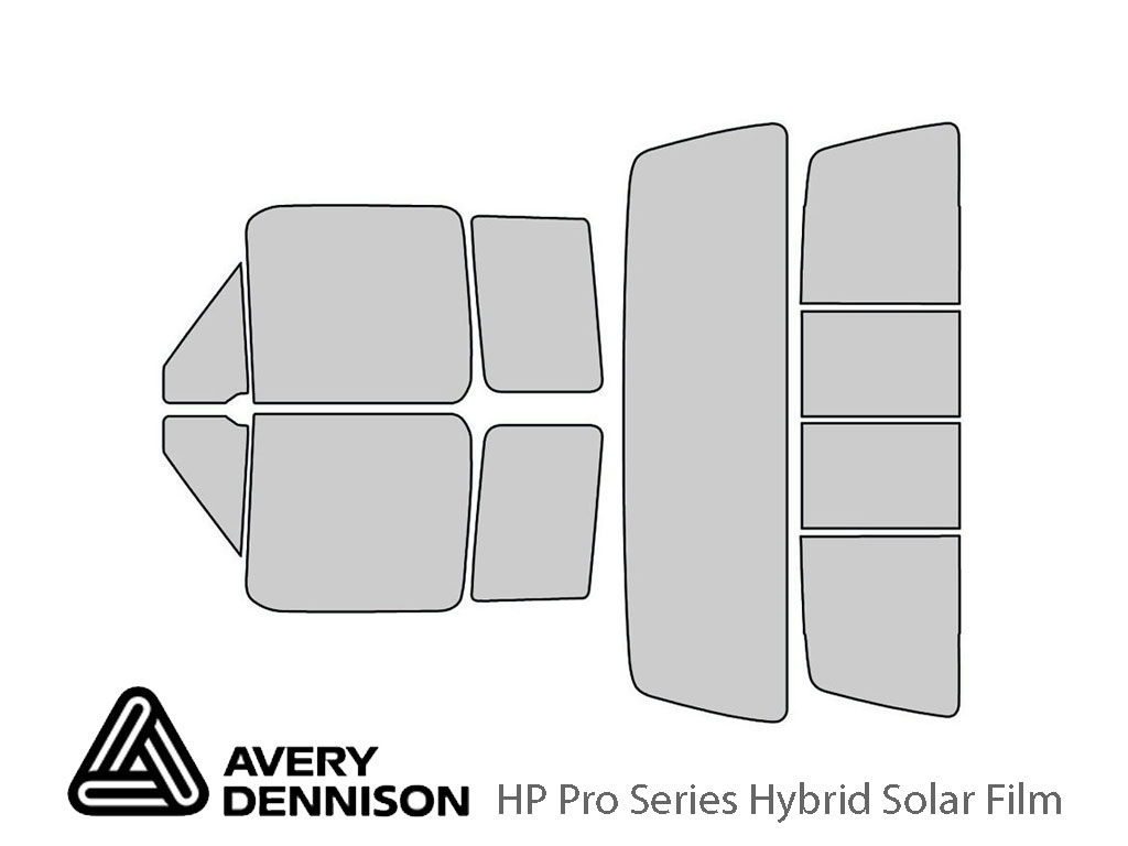 Avery Dennison Ford F-150 1992-1996 (2 Door) HP Pro Window Tint Kit