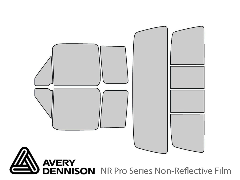 Avery Dennison Ford F-150 1992-1996 (2 Door) NR Pro Window Tint Kit