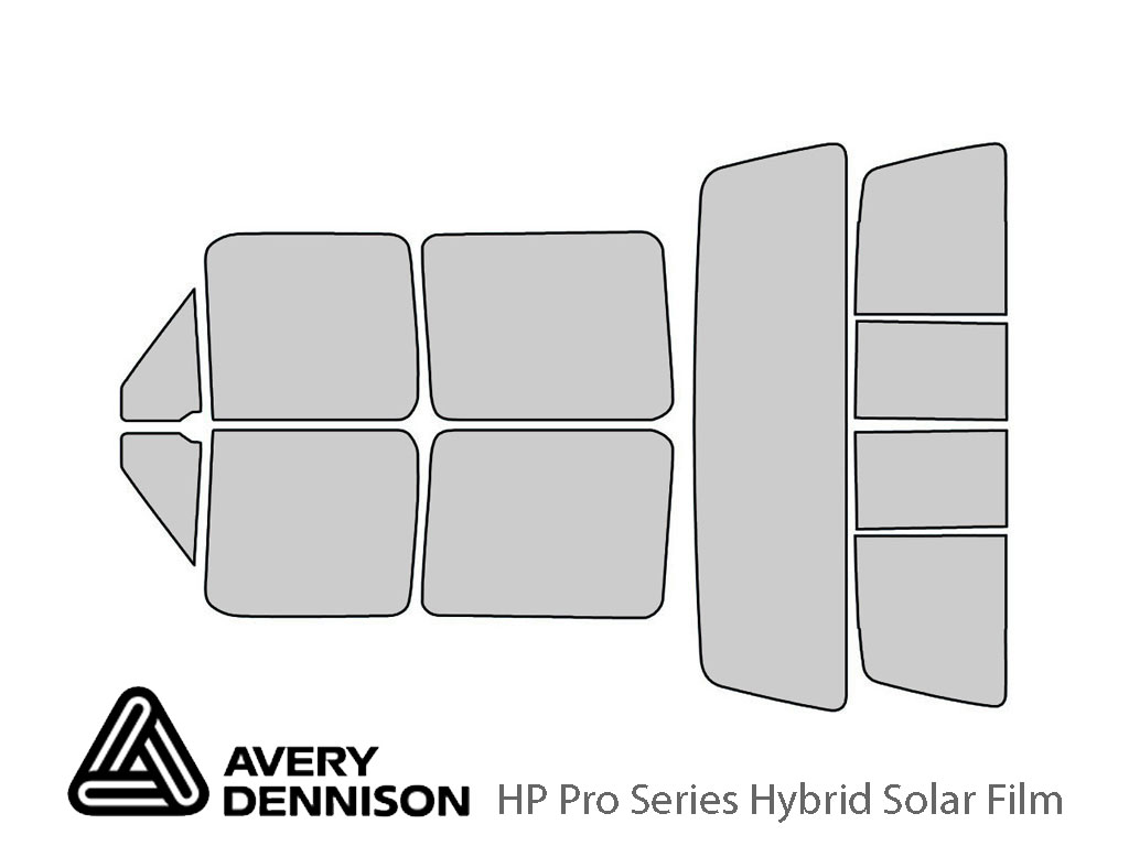 Avery Dennison Ford F-150 1992-1996 (4 Door) HP Pro Window Tint Kit