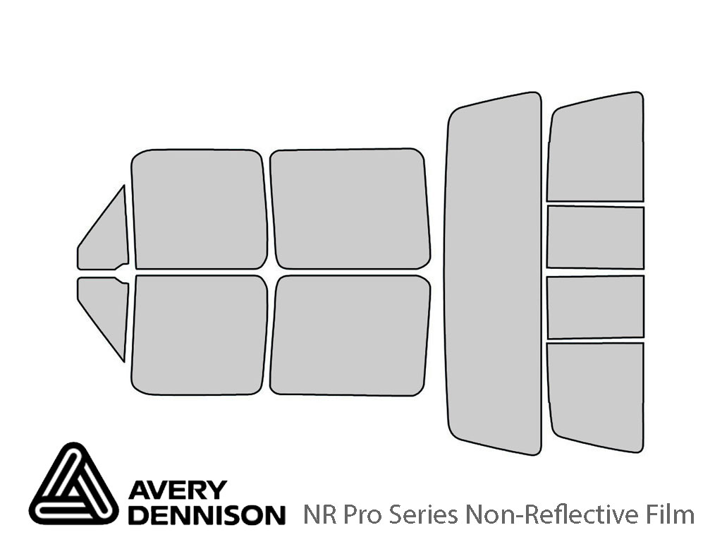 Avery Dennison Ford F-150 1992-1996 (4 Door) NR Pro Window Tint Kit