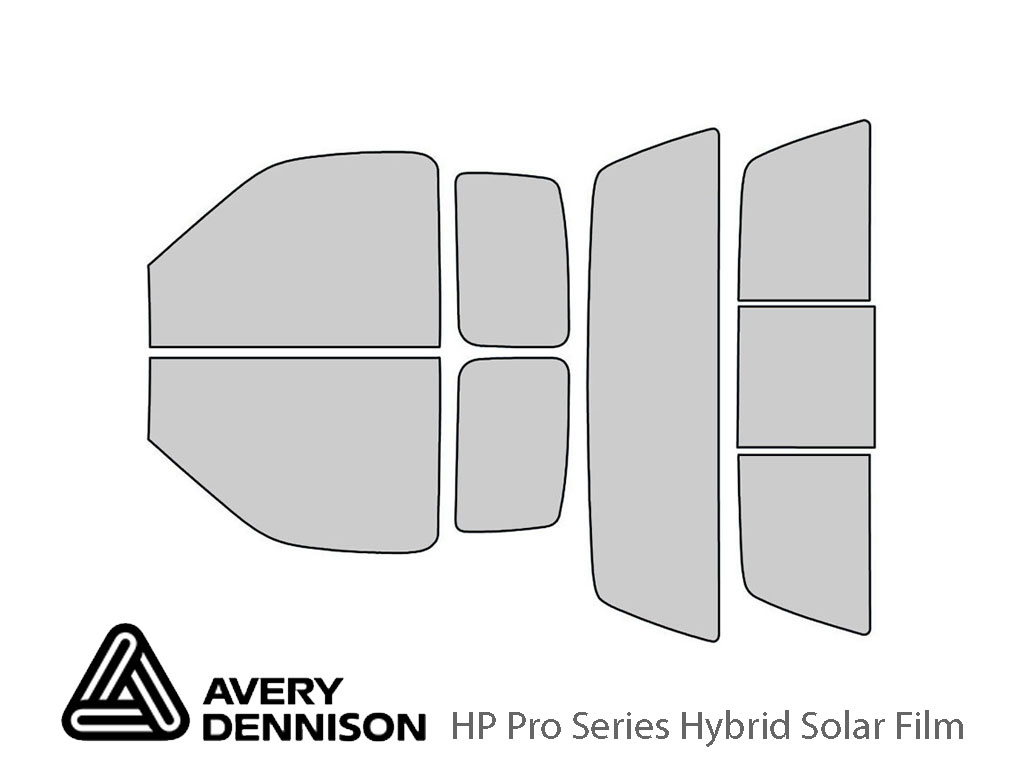 Avery Dennison Ford F-150 1997-2003 (2 Door) HP Pro Window Tint Kit