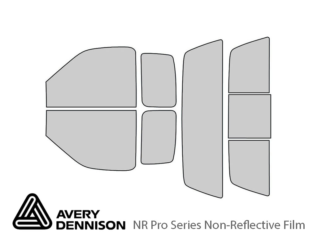 Avery Dennison Ford F-150 1997-2003 (2 Door) NR Pro Window Tint Kit