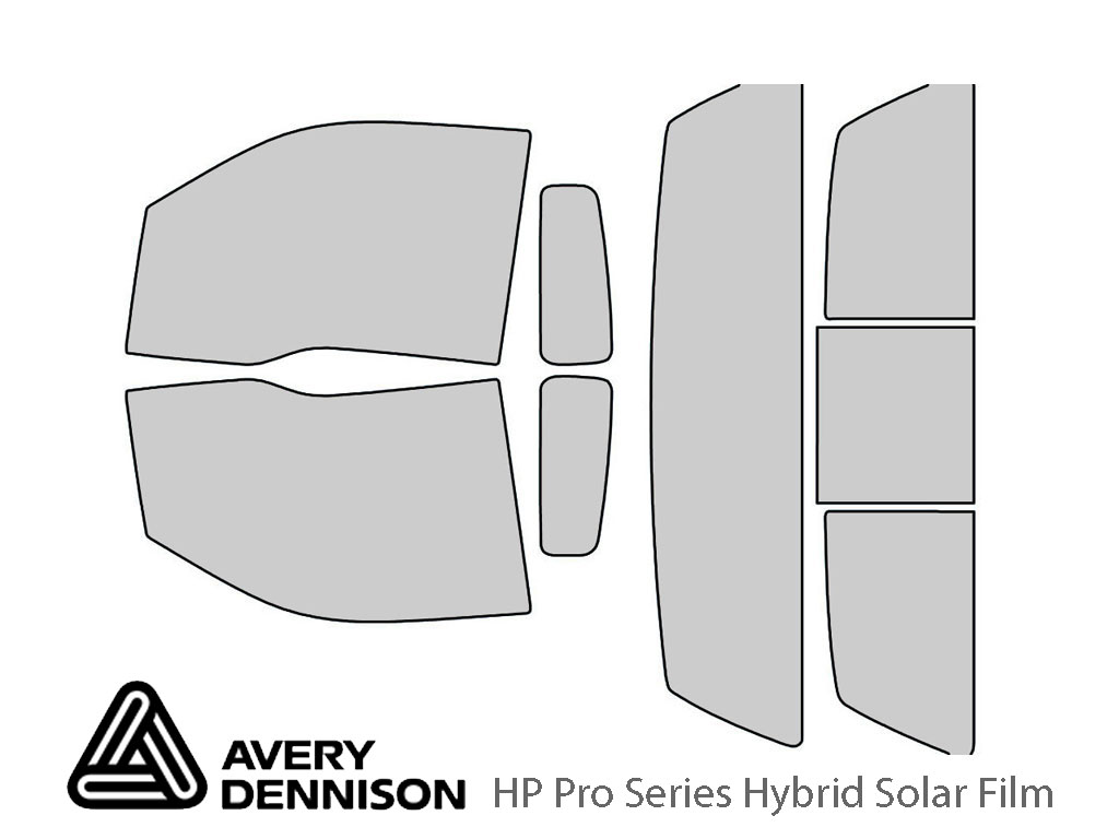 Avery Dennison Ford F-150 2009-2014 (2 Door) HP Pro Window Tint Kit