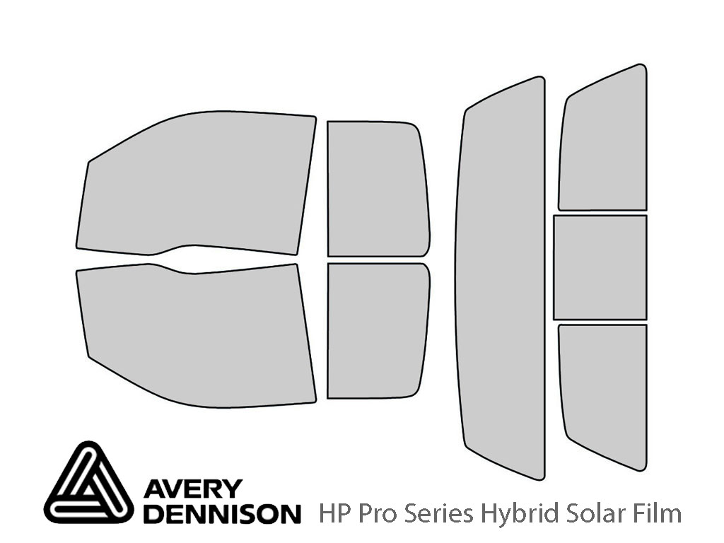 Avery Dennison Ford F-150 2009-2014 (2 Door SuperCab) HP Pro Window Tint Kit