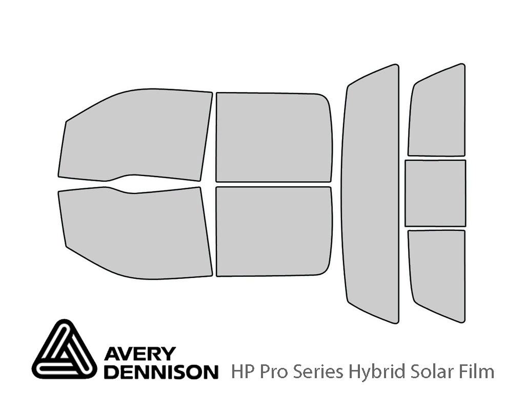 Avery Dennison Ford F-150 2009-2014 (4 Door) HP Pro Window Tint Kit