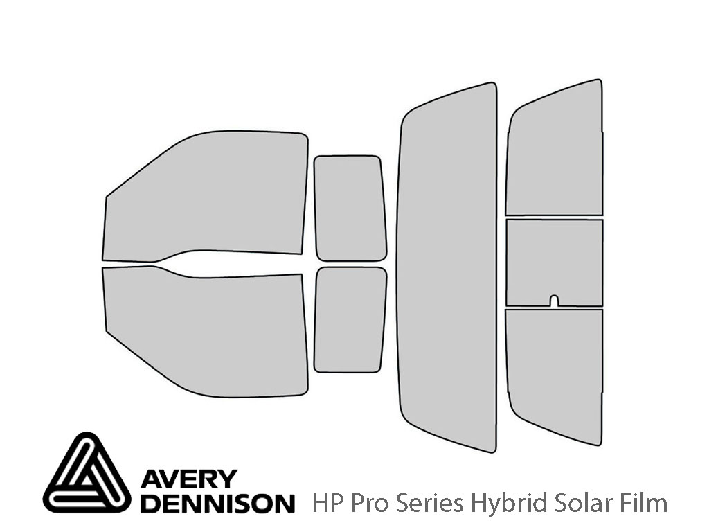 Ford F-250 1999-2007 2 Door Avery Hybrid Window Tint
