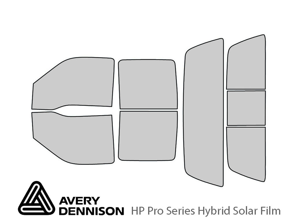 Ford F-250 1999-2007 4 Door Avery Hybrid Window Tint