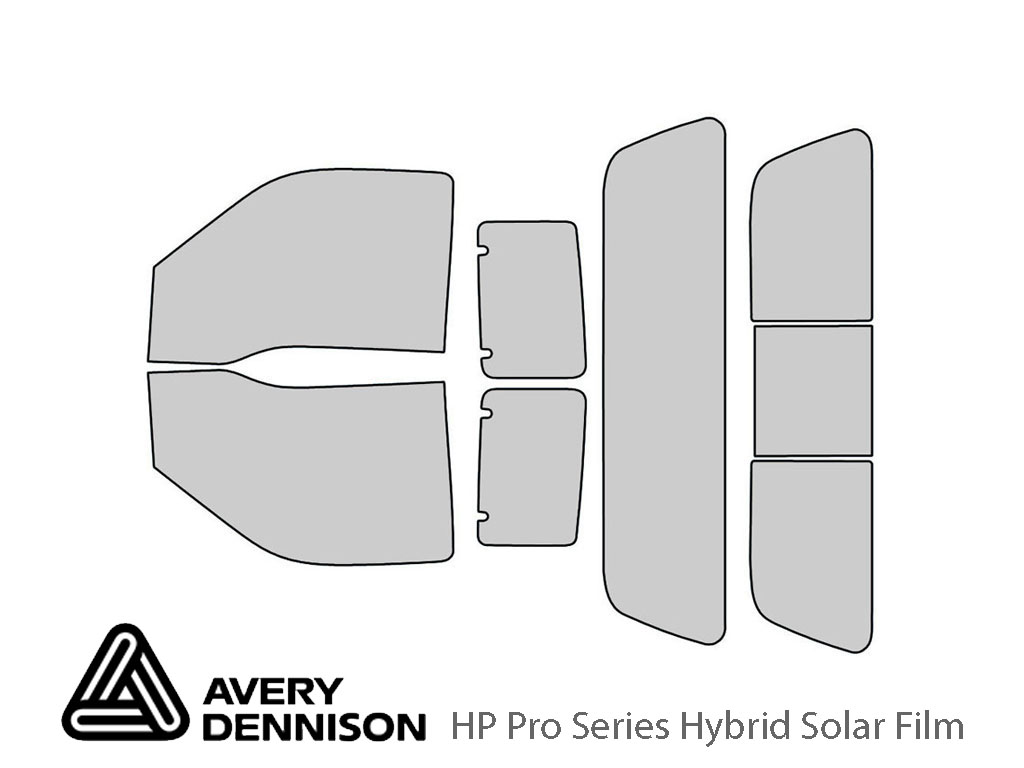 Ford F-250 2008-2016 2 Door Avery Hybrid Window Tint