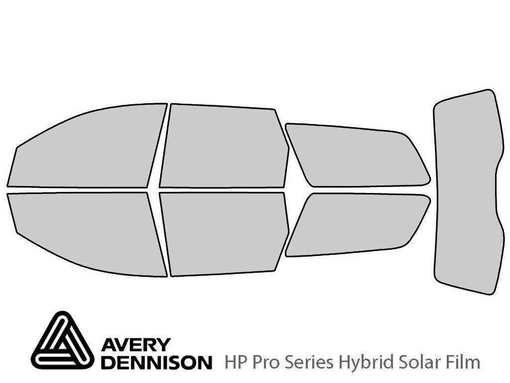 Avery Dennison Ford Focus 2000-2007 (Wagon) HP Pro Window Tint Kit
