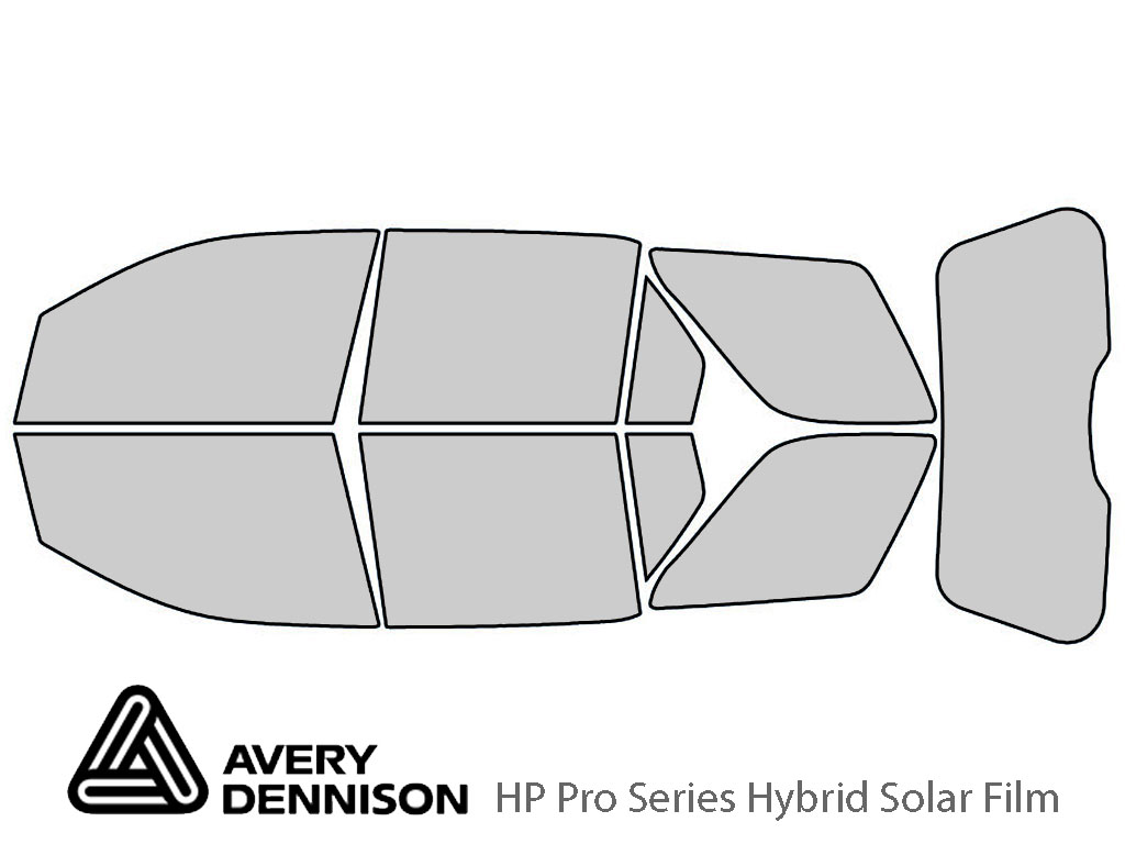 Avery Dennison Ford Freestyle 2005-2007 HP Pro Window Tint Kit