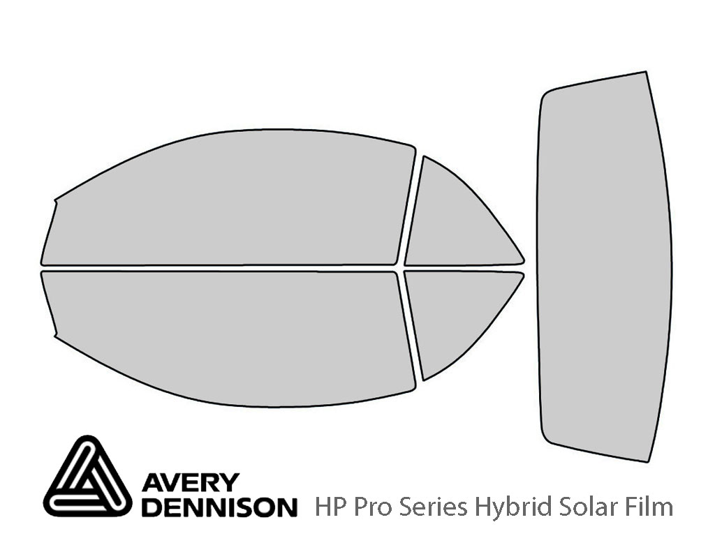 Avery Dennison Ford Mustang 1994-1999 (Convertible) HP Pro Window Tint Kit