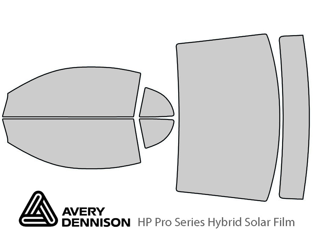 Avery Dennison Ford Mustang 1999-2004 (Coupe) HP Pro Window Tint Kit