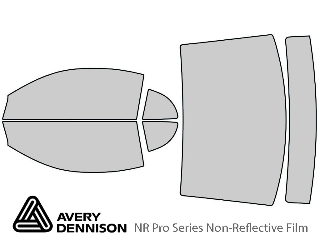Avery Dennison Ford Mustang 1999-2004 (Coupe) NR Pro Window Tint Kit