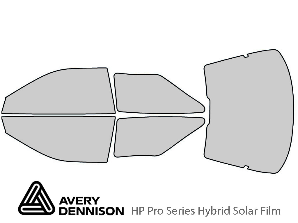 Avery Dennison Ford Probe 1993-1997 HP Pro Window Tint Kit