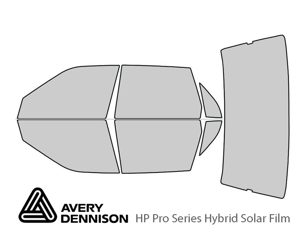 Avery Dennison Ford Tempo 1990-1994 HP Pro Window Tint Kit