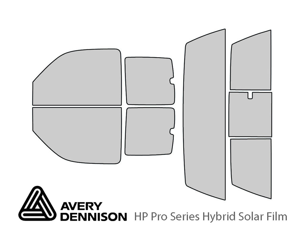 Avery Dennison GMC Sierra 2000-2006 (2 Door) HP Pro Window Tint Kit