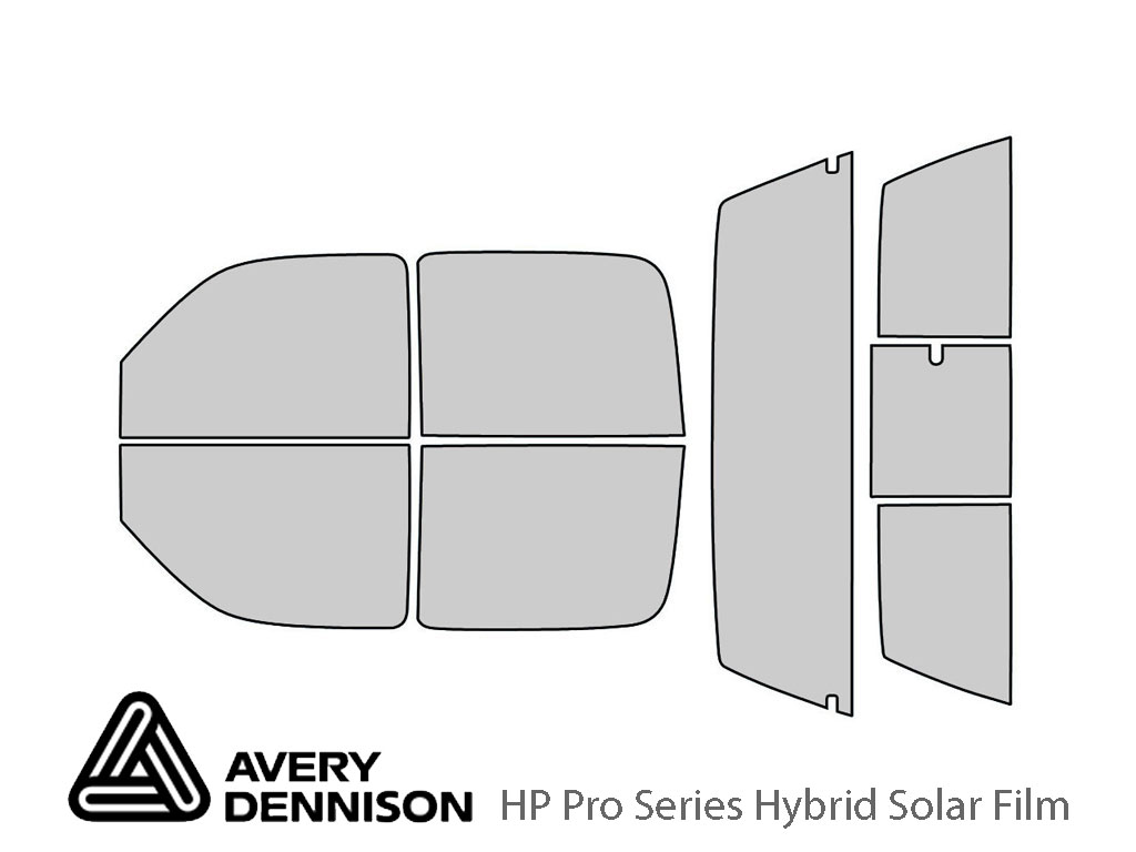 Avery Dennison GMC Sierra 2001-2006 (4 Door) HP Pro Window Tint Kit