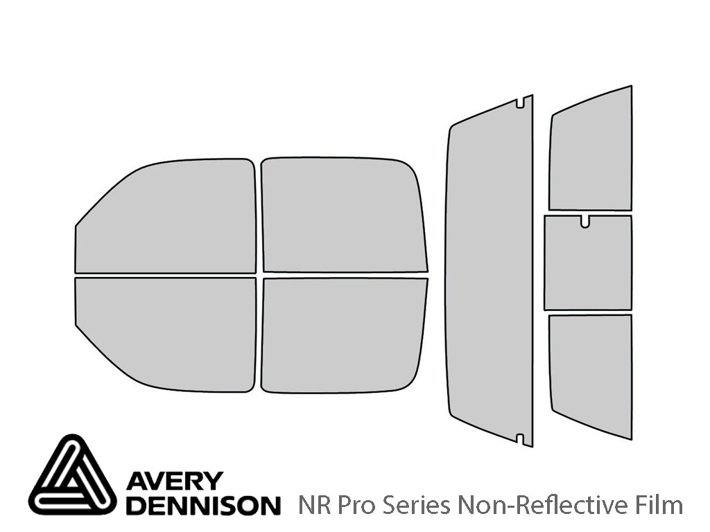 Avery Dennison GMC Sierra 2001-2006 (4 Door) NR Pro Window Tint Kit