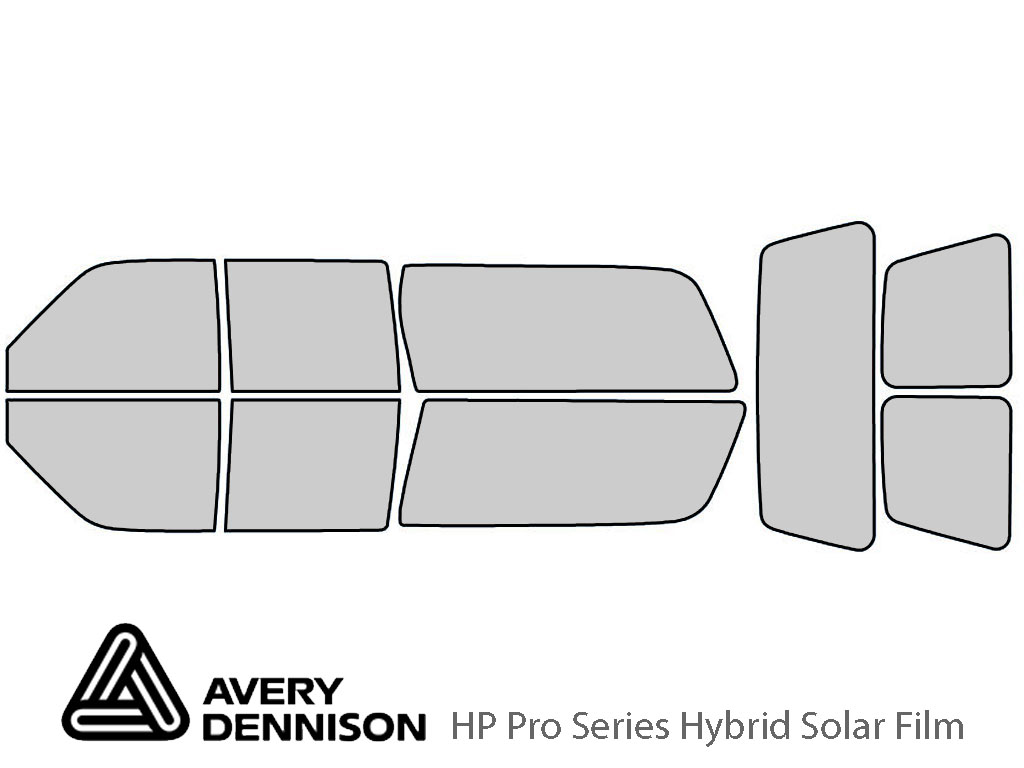 Avery Dennison GMC Suburban 1992-1999 HP Pro Window Tint Kit