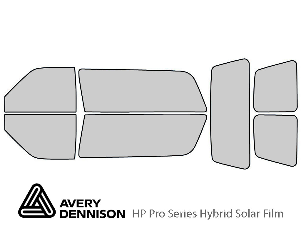 Avery Dennison GMC Yukon 1992-1999 (2 Door) HP Pro Window Tint Kit