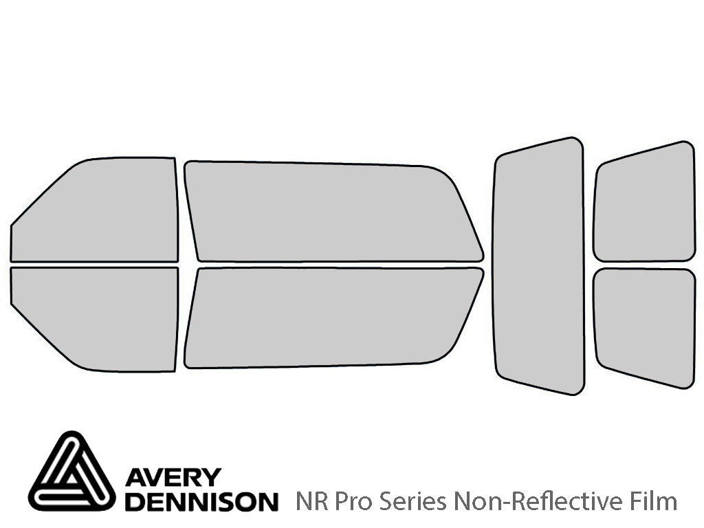 Avery Dennison GMC Yukon 1992-1999 (2 Door) NR Pro Window Tint Kit