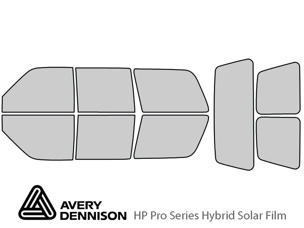 Avery Dennison GMC Yukon 1995-1999 (4 Door) HP Pro Window Tint Kit