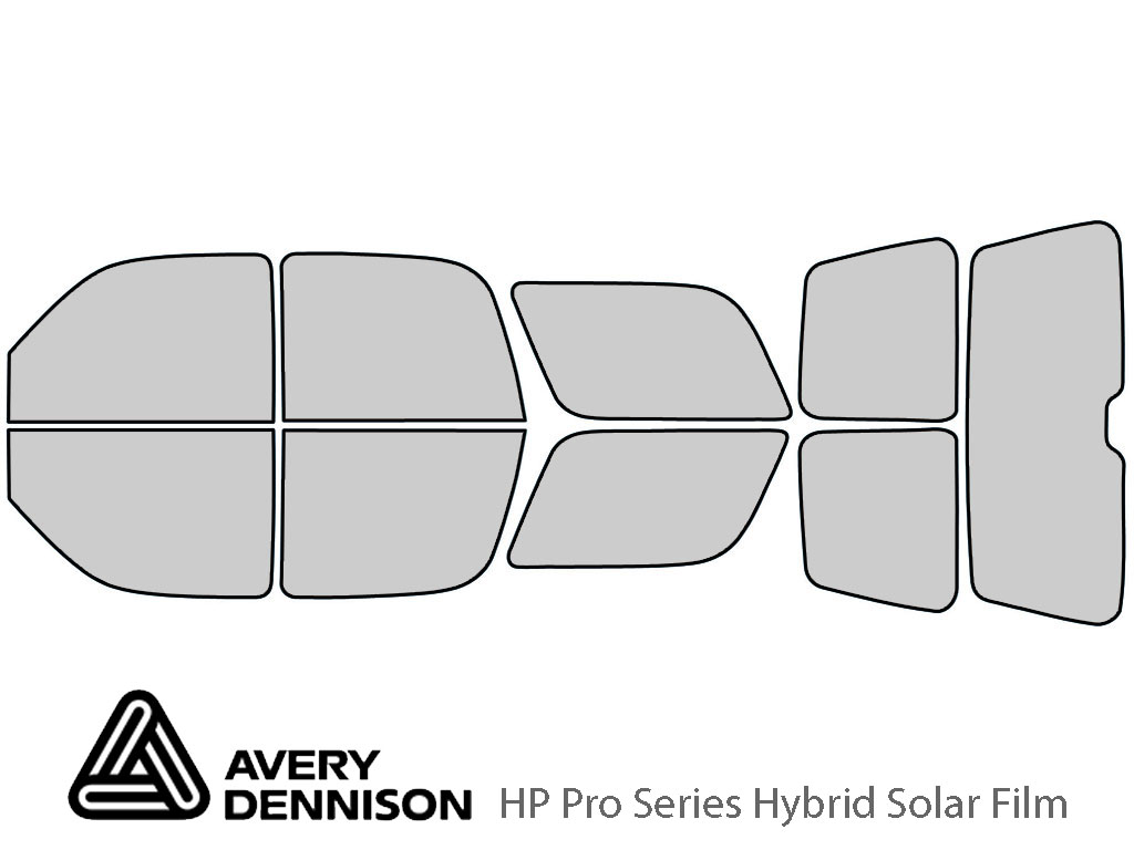 Avery Dennison GMC Yukon 2000-2006 HP Pro Window Tint Kit