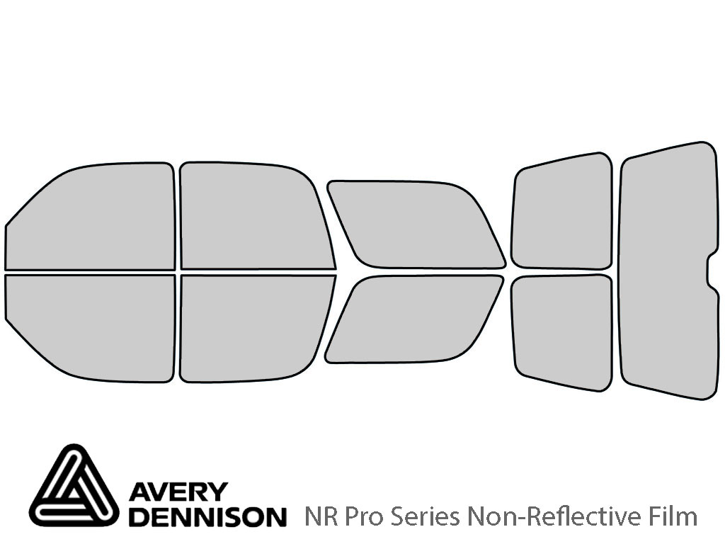 Avery Dennison GMC Yukon 2000-2006 NR Pro Window Tint Kit
