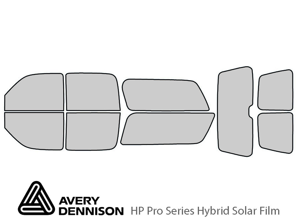 Avery Dennison GMC Yukon 2000-2006 (XL) HP Pro Window Tint Kit