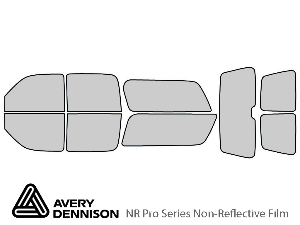 Avery Dennison GMC Yukon 2000-2006 (XL) NR Pro Window Tint Kit