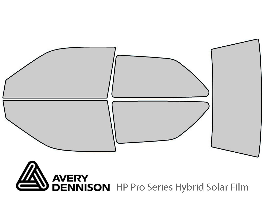 Avery Dennison Geo Metro 1990-1994 HP Pro Window Tint Kit