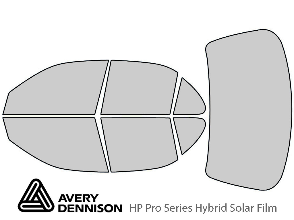 Avery Dennison Geo Prizm 1995-1997 HP Pro Window Tint Kit