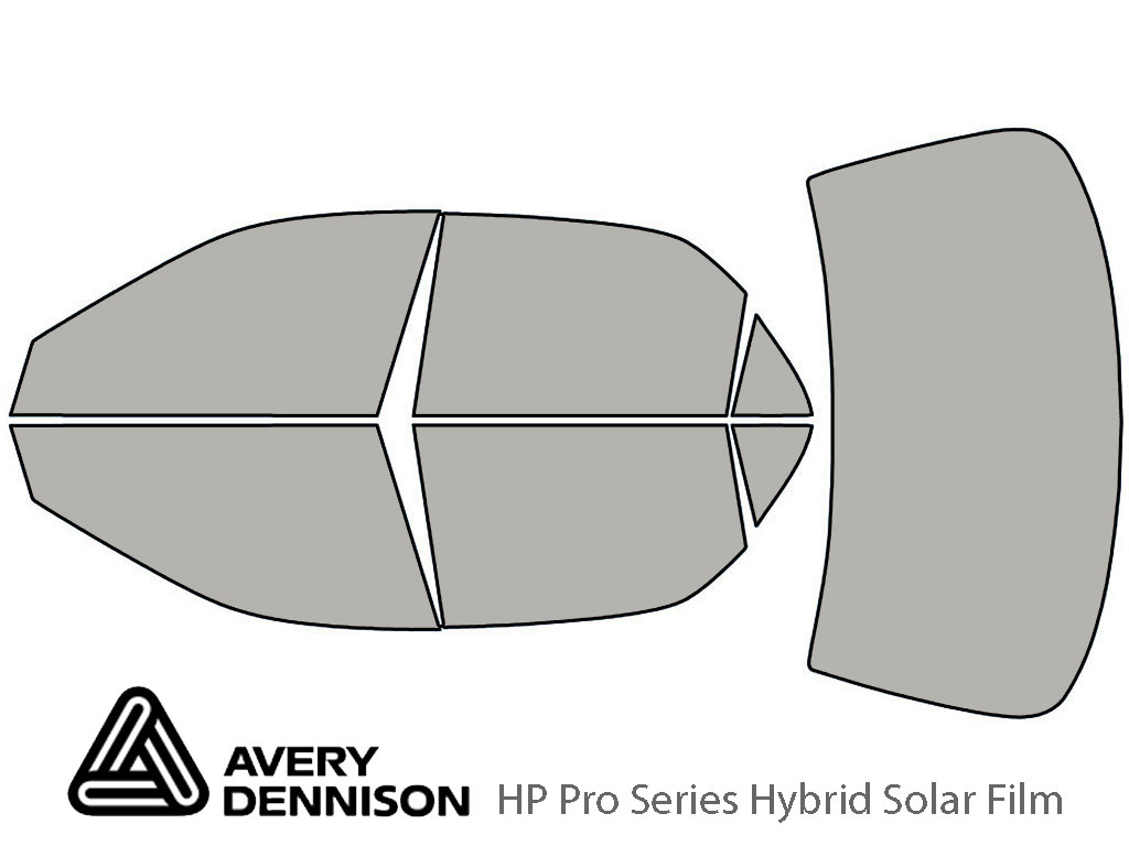 Avery Dennison Honda Accord 1998-2002 (Sedan) HP Pro Window Tint Kit
