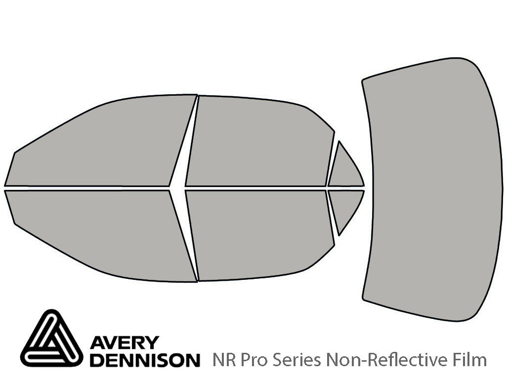 Avery Dennison Honda Accord 1998-2002 (Sedan) NR Pro Window Tint Kit