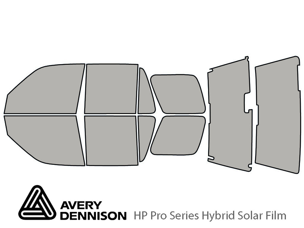 Avery Dennison Honda CR-V 1997-2001 HP Pro Window Tint Kit