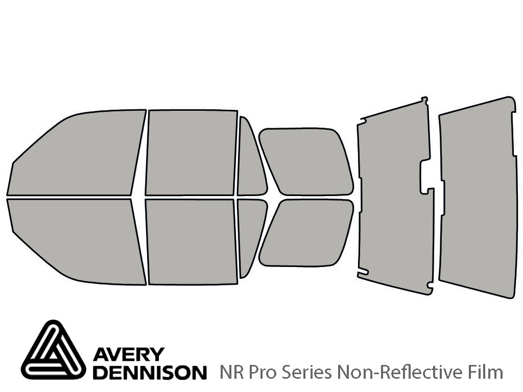 Avery Dennison Honda CR-V 1997-2001 NR Pro Window Tint Kit