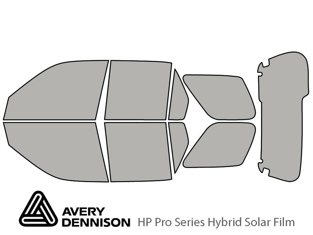 Avery Dennison Honda CR-V 2002-2006 HP Pro Window Tint Kit