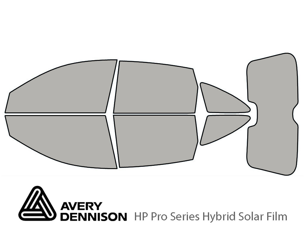 Avery Dennison Honda CR-V 2007-2011 HP Pro Window Tint Kit