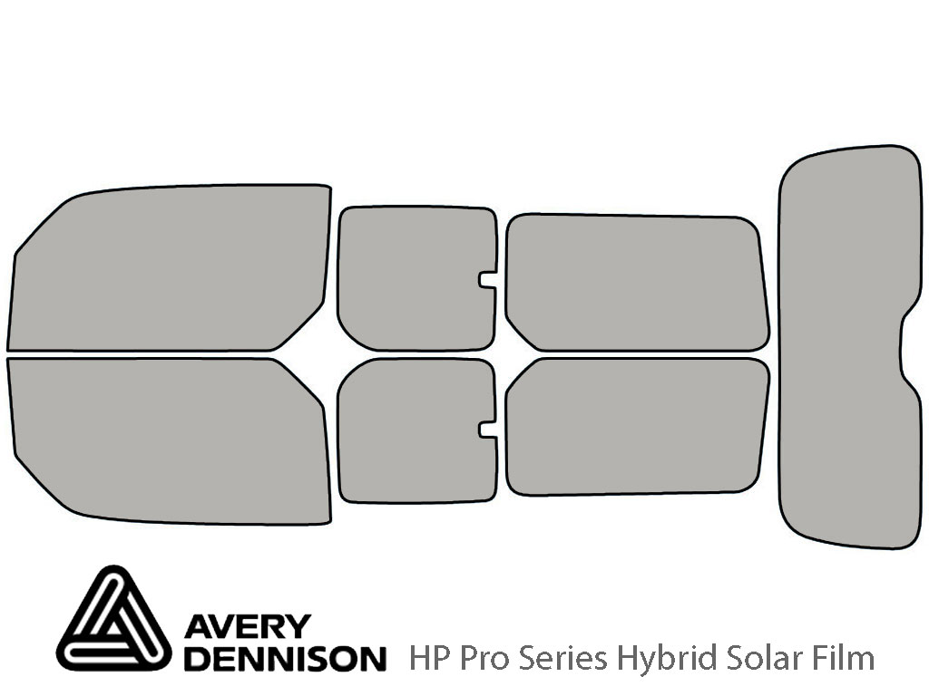 Avery Dennison Honda Element 2003-2011 HP Pro Window Tint Kit