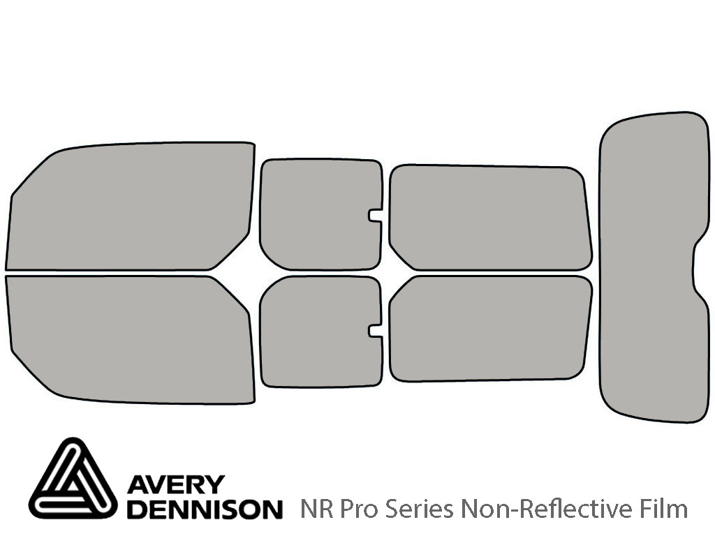 Avery Dennison Honda Element 2003-2011 NR Pro Window Tint Kit