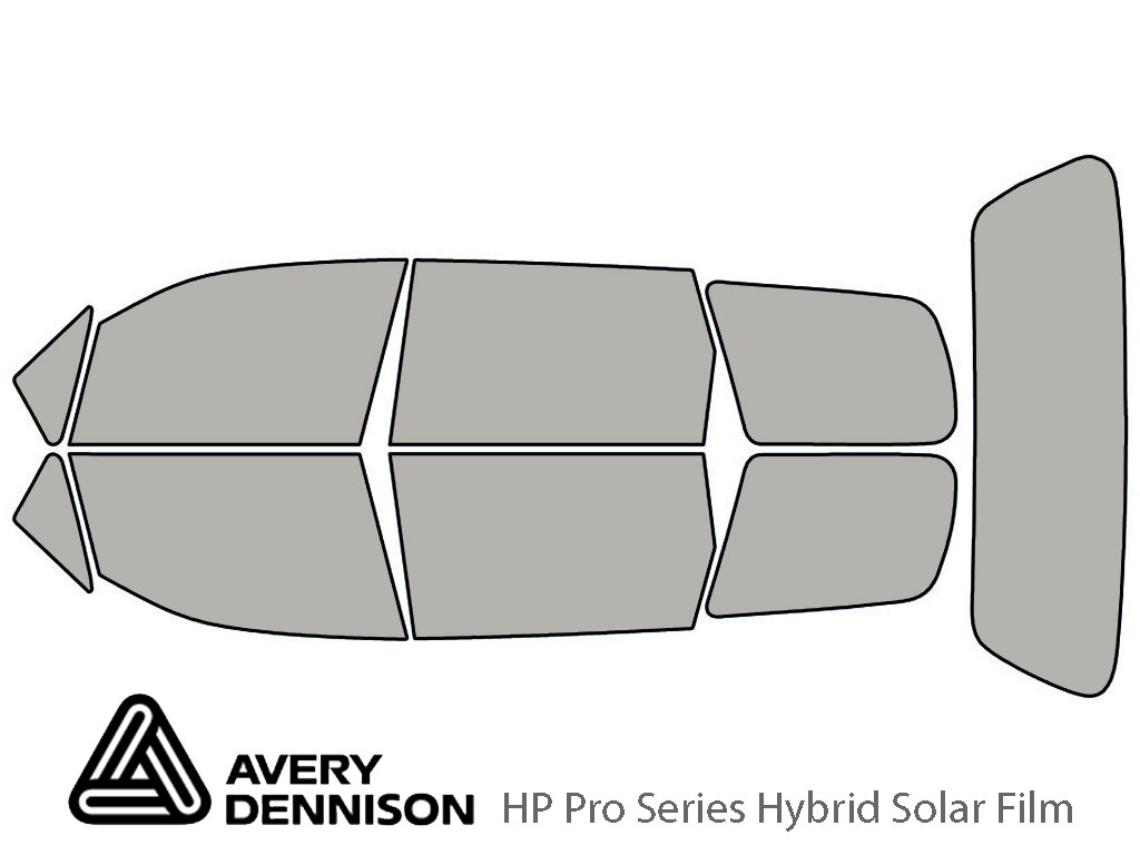 Avery Dennison Honda Odyssey 1995-1998 HP Pro Window Tint Kit