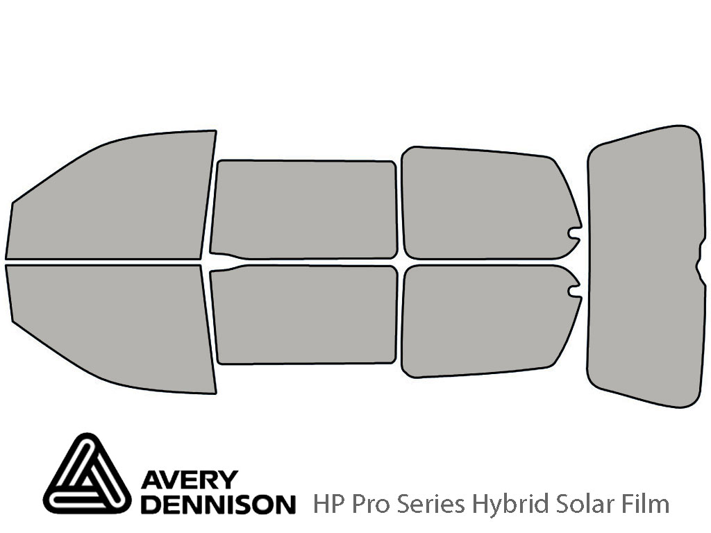 Avery Dennison Honda Odyssey 1999-2004 HP Pro Window Tint Kit