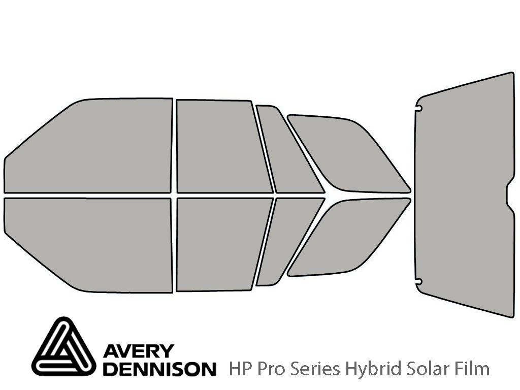 Avery Dennison Honda Passport 1994-1997 HP Pro Window Tint Kit