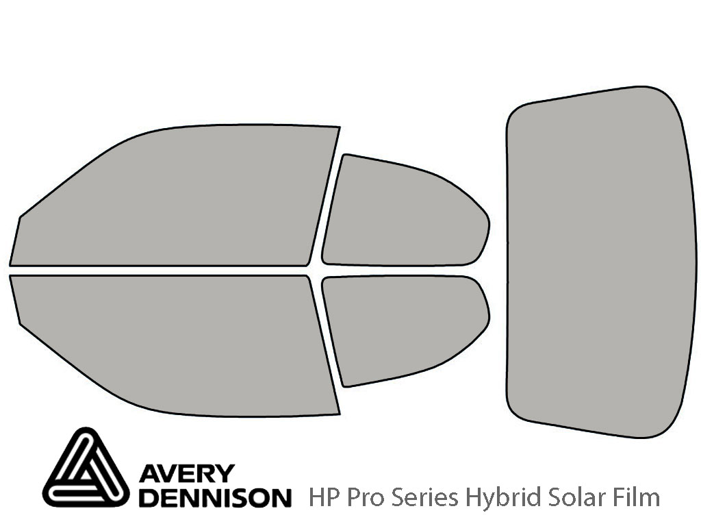 Avery Dennison Hyundai Accent 2000-2006 (Coupe) HP Pro Window Tint Kit