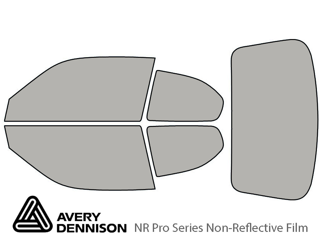 Avery Dennison Hyundai Accent 2000-2006 (Coupe) NR Pro Window Tint Kit