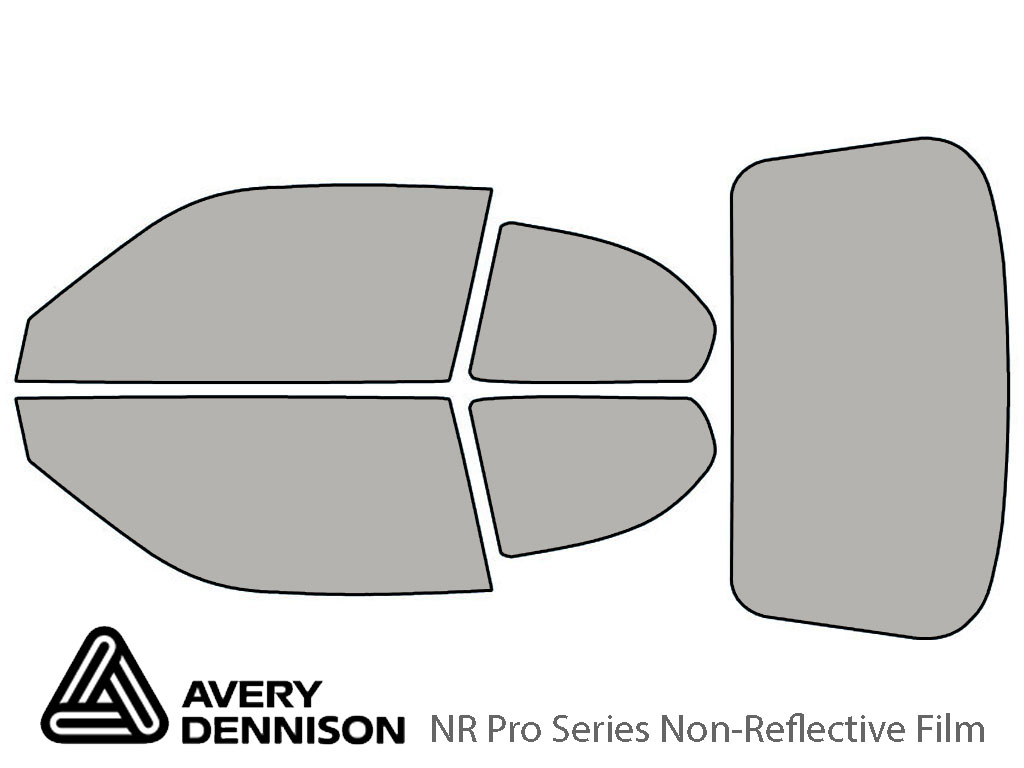 Avery Dennison Hyundai Accent 2006-2011 (Coupe) NR Pro Window Tint Kit